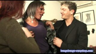 Threesome, transsexual and stud fuck Alice ricci. Directed by Roby Bianchi